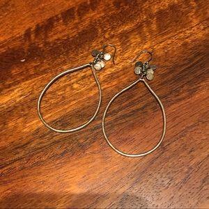 Lucky Brand Gold Hoop Earrings